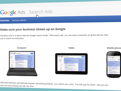 Google Adwords campaign from Western Webs Galway